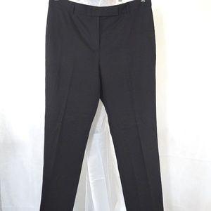 Chaus Dress Pants Women Size 10 Black Straight Leg